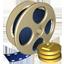 In der Videothek des Spiels kauft man Filme, Filmpakete, Fernsehfilme und Serien.